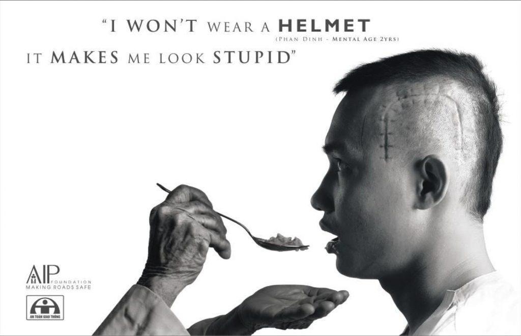 Publicity Helmet Campaign